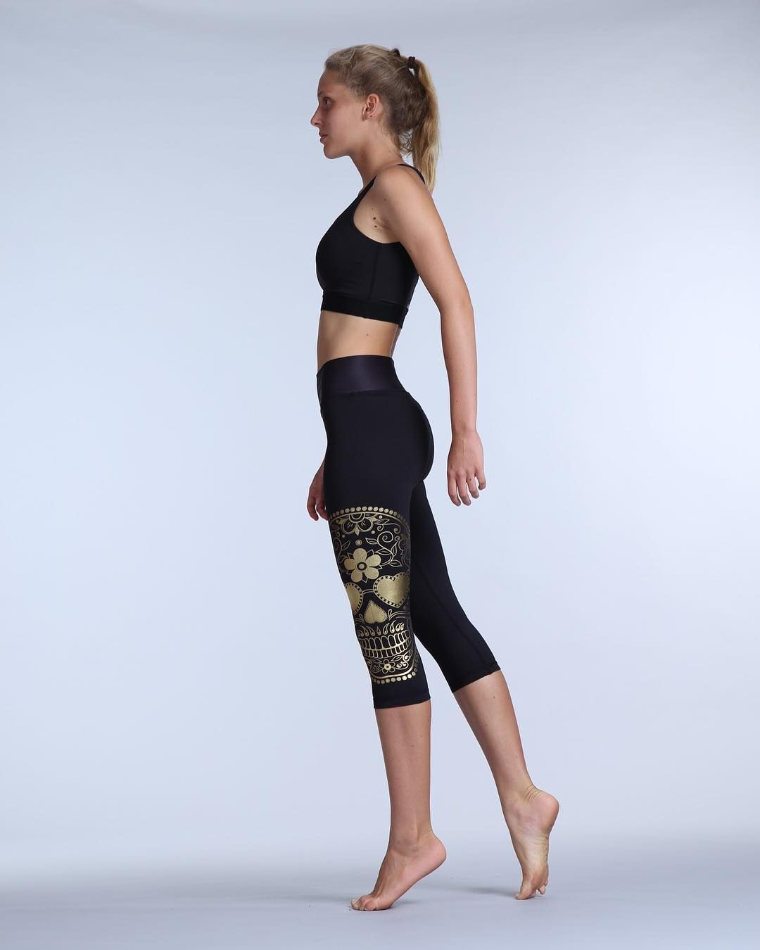 7b6ca3aa59d91e Badass in black! CATRINA LEGGINGS  amp  CROP TOP available online now.
