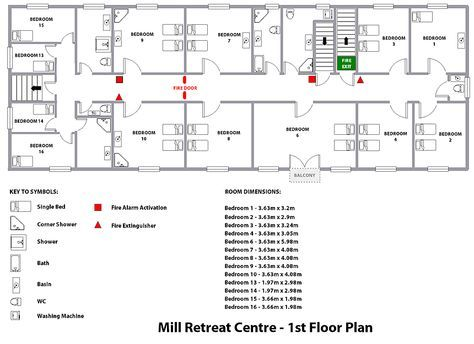 The Mill Retreat Centre Floorplans Floor Plans Creative Retreat Retreat