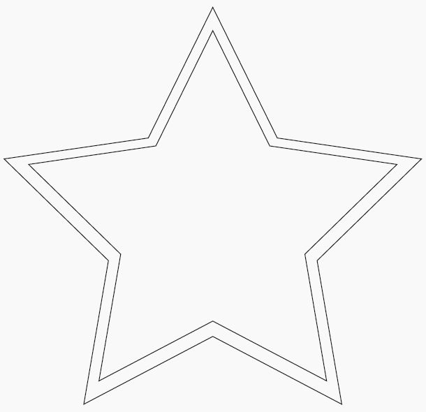 large star template | Sewing projects | Pinterest | Star template ...