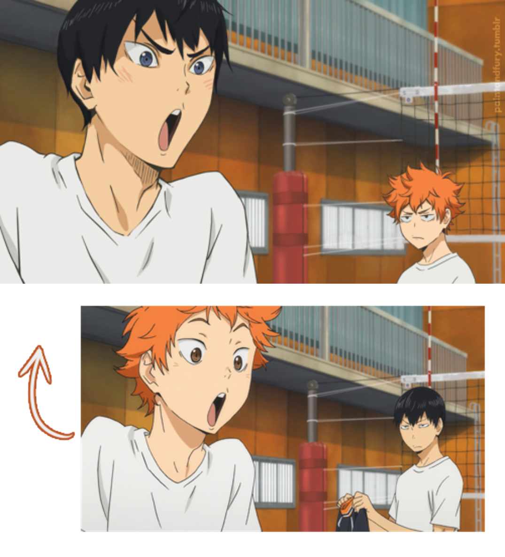 How did I never noticed this? Haikyuu Haikyuu manga