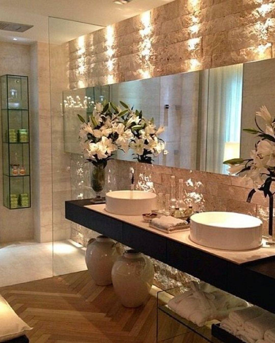 25 Amazing Bathroom Designs | Bagno, Bagni e Luci