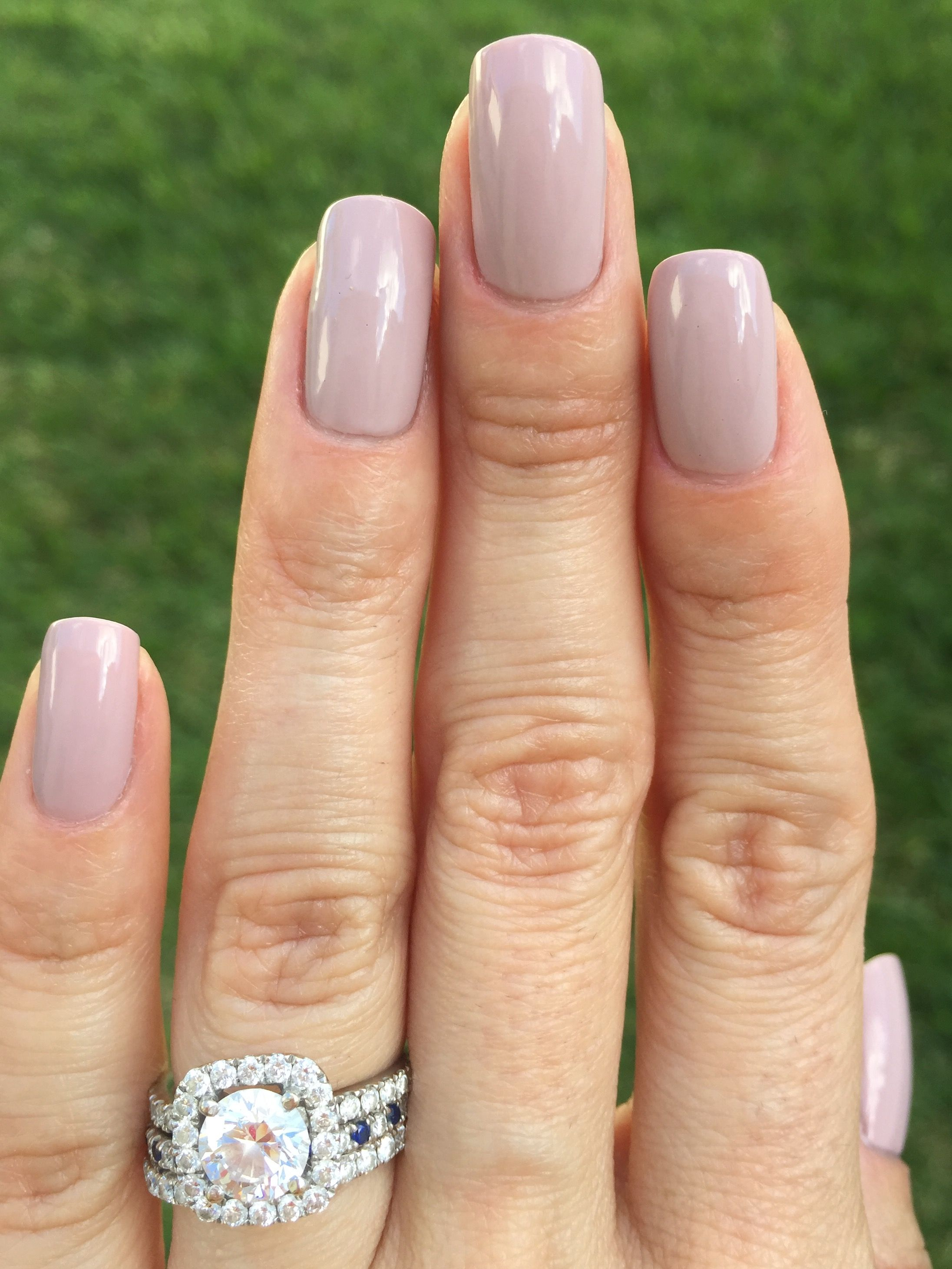 Essie - Go Go Geisha - light purple mauve nails - neutral manicure ...