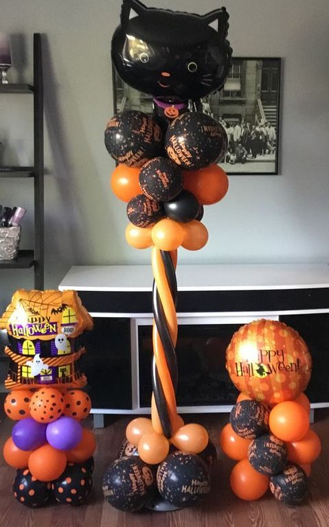 20+ Balloon Decoration Halloween That You Can Make Yourself