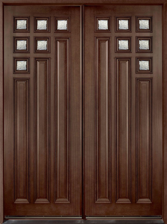Custom Entry Door Solid Wood Transitional Collection Double Gd 976 Dd In 2020 Entry Door Designs Contemporary Exterior Doors Double Doors Exterior