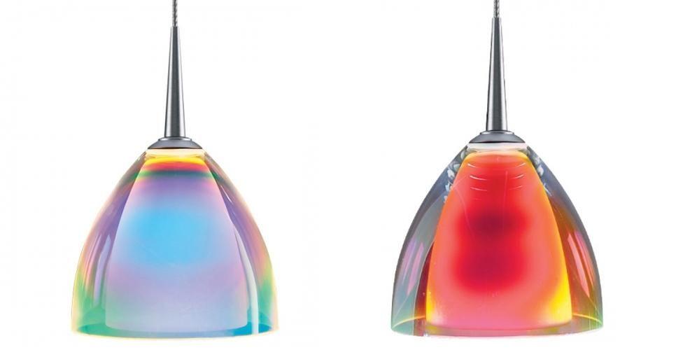 Ideas Advice Dichroic Glass Pendant Glass Pendant Light Lamp