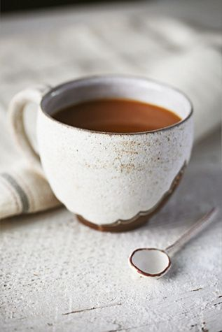Victoria Smith Ceramics Bronzed Brew Mug at Free People Clothing Boutique