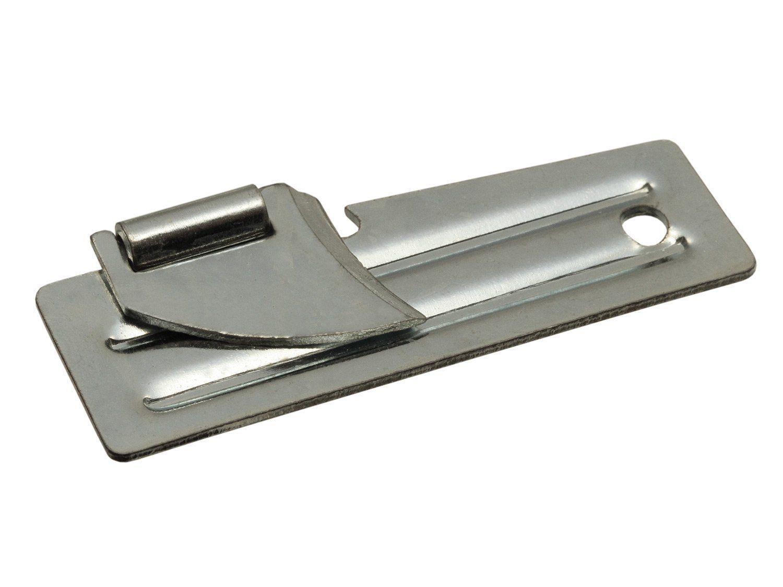 Fibega Klappbarer US Dosenöffner, P38 Style, aus Stahl, neu - extrem klein, funktioniert immer!