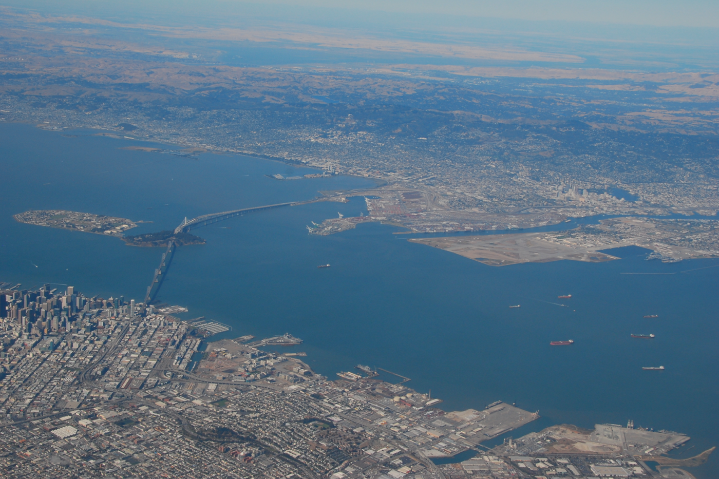 San Francisco Map Attractions Pdf%0A View flying into San Francisco airport  August