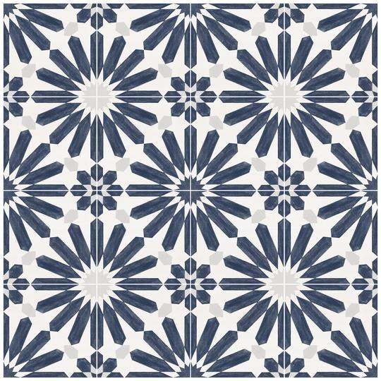 Stellino Floor Sticker #bluegreykitchens