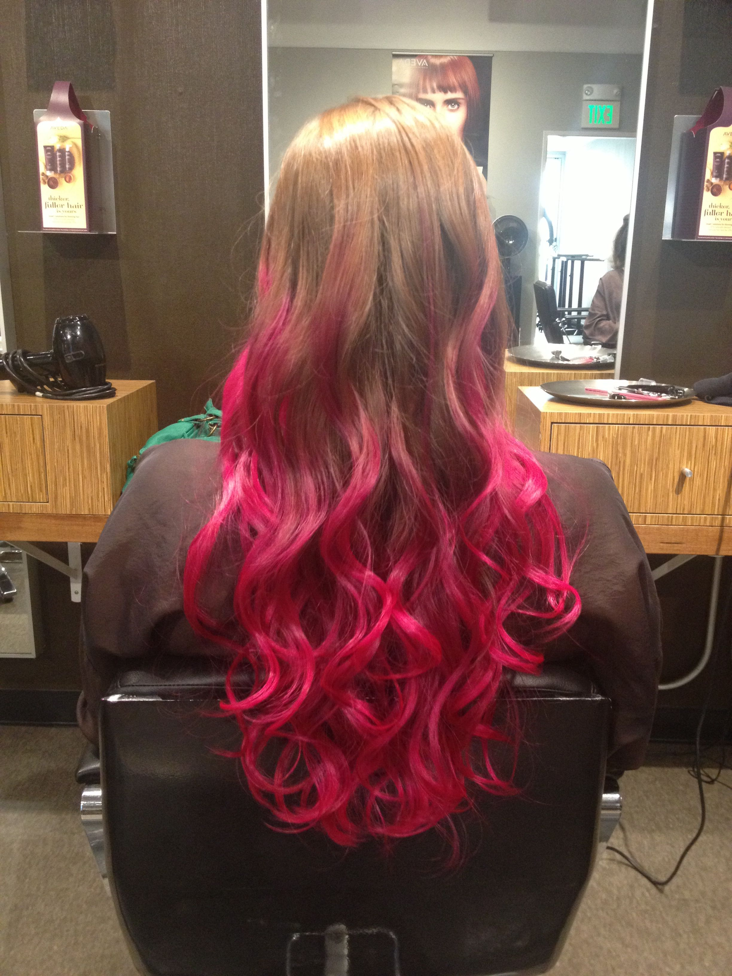 Special Effects Semi Permanent Hair Dye Atomic Pink Hands Down