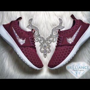 ddb2080e0c ... SHOES  Swarovski Nike Juvenate Burgundy - Nike Sportswear ...