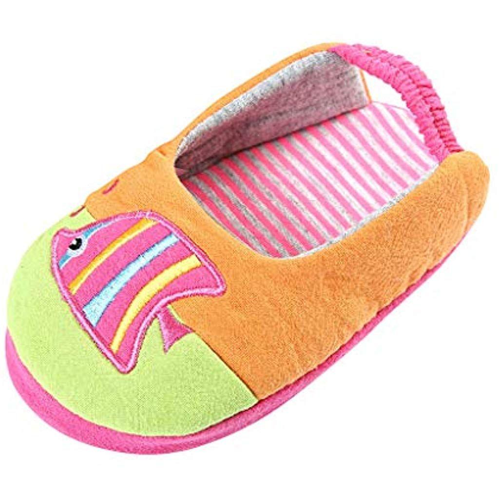 Igemy Pantofole in Cotone per Bambini Calde Invernali