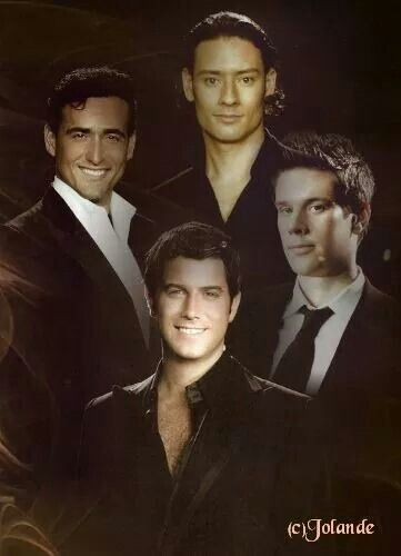 Il Divo--I'm GOING TO SEE THEM ON 5/31/14.