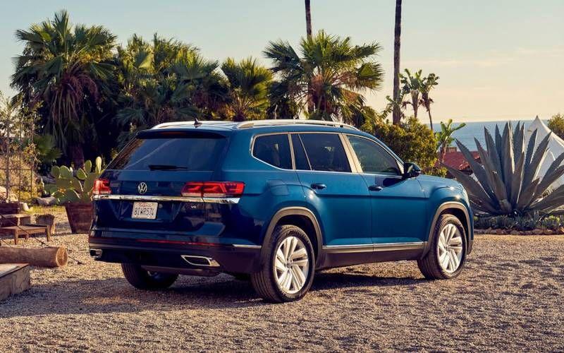 Volkswagen Atlas V6 Sel 4motion 2021 In 2020 Volkswagen Fuel Economy Sport Utility Vehicle