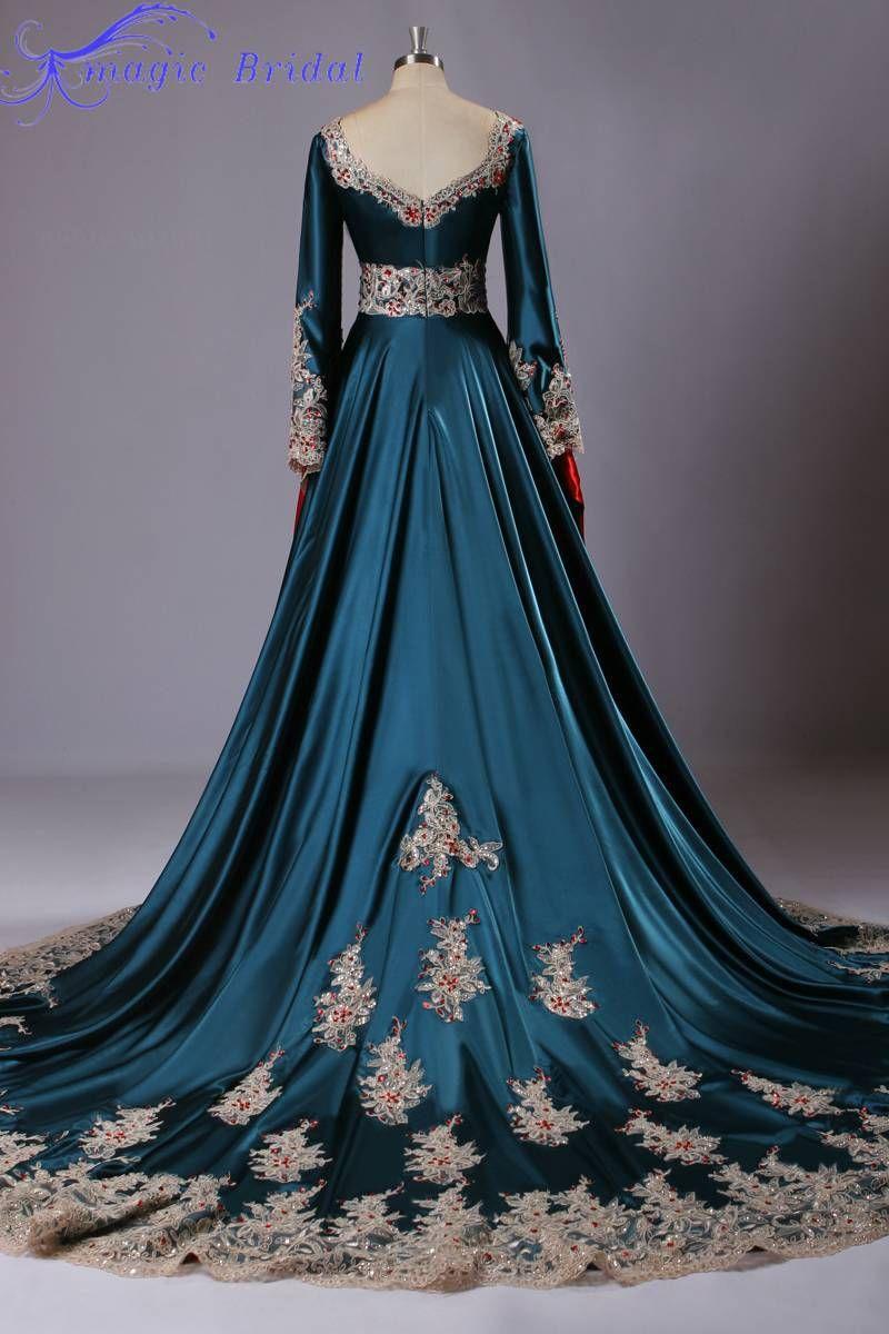 Vestidos de fiesta estilo marroqui