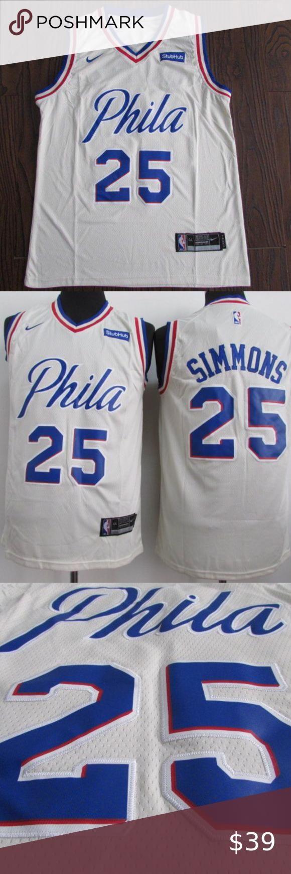 Authentic Philadelphia 76ers Ben Simmons Jersey Brand New Authentic Nba Men S Philadelphia 76ers Ben Simmons Ni In 2020 Ben Simmons Jersey Ben Simmons New Philadelphia