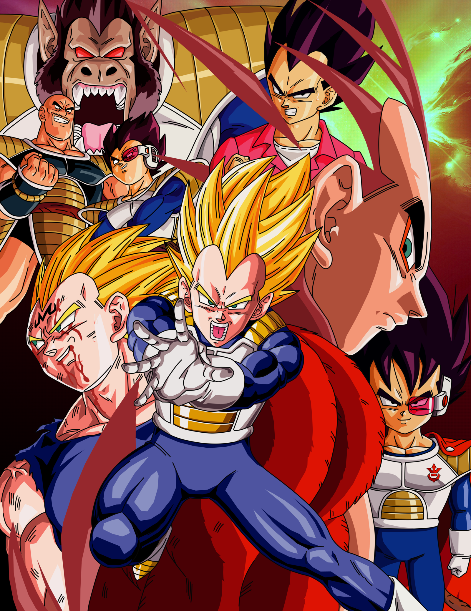 Dbz Francais Vegeta By Dbzartist94 Deviantart On Deviantart