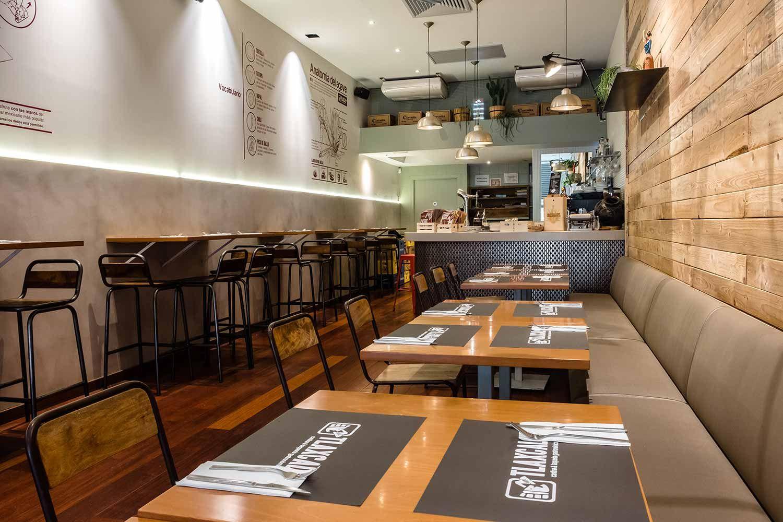 Amenagement Et Decoration Du Restaurant Tlaxcal Restaurantes Mexicanos Diseno Pizzeria Restaurantes