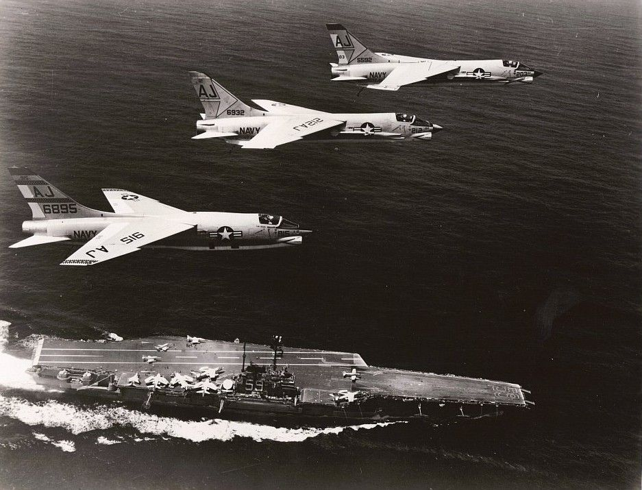 uss forrestal USS Forrestal CVA59 Fighting Fire Jul 29