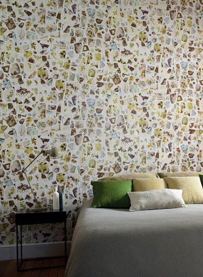 Tapete Portobello von Elitis-3006 Portobello - retro tapete wohnzimmer
