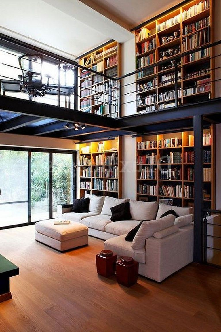 Small Library Room Decorating Ideas: 23+ Cozy Small Modern Living Room Layouts Ideas