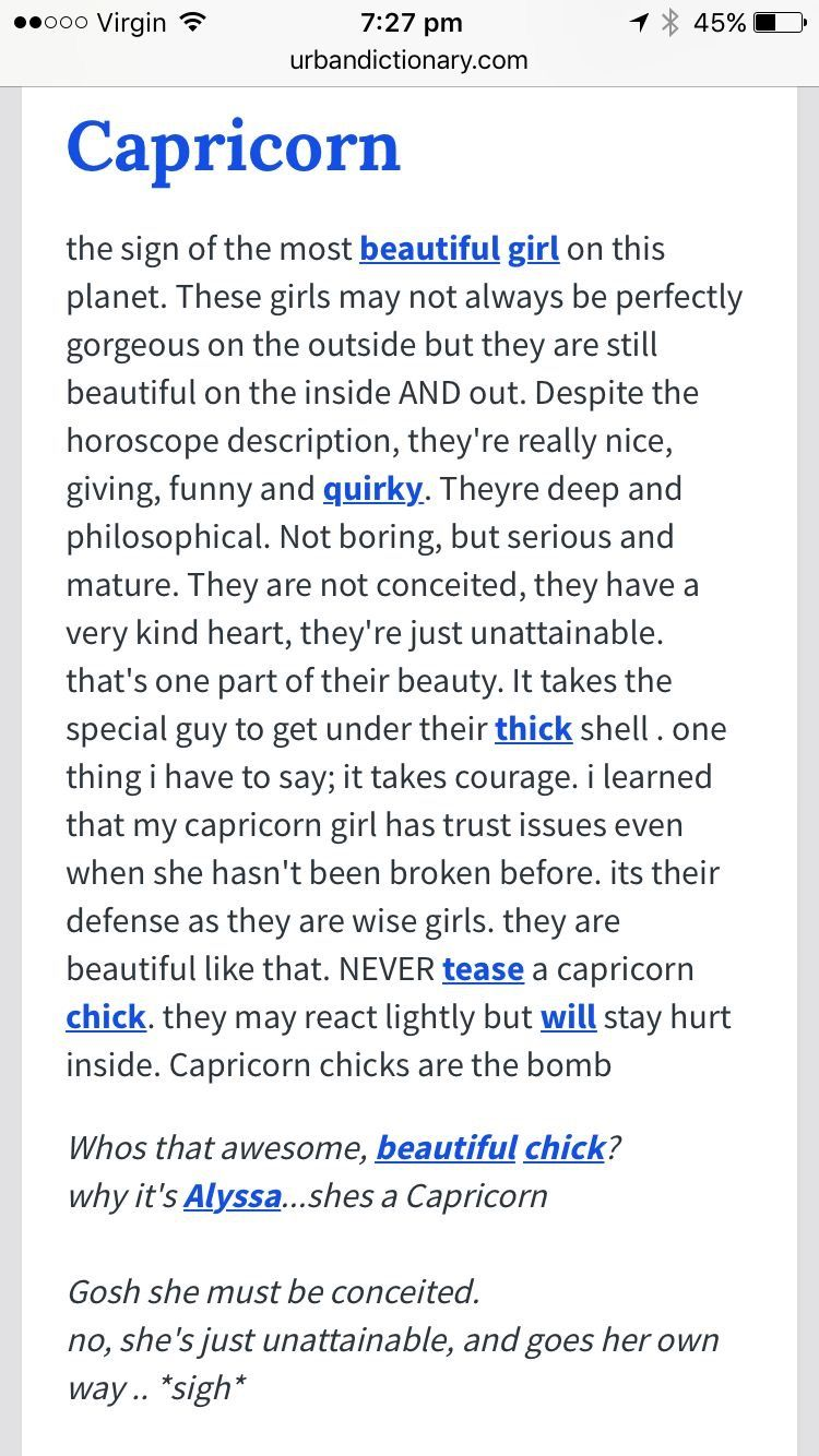 Awe My Heart Fluttered True Words This Guy That Wrote His Urban Definition Of His Capricorn Girl He K Capricorn Life Capricorn Quotes Horoscope Capricorn