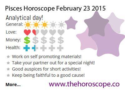 pisces horoscope 23 february