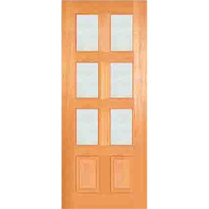 Woodcraft Doors 2040 X 820 X 40mm Clear Safety Glass