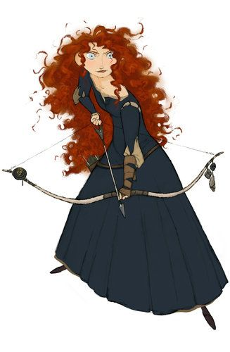 Pixar's 'Brave': How the Character Merida Was Developed - The New York Times