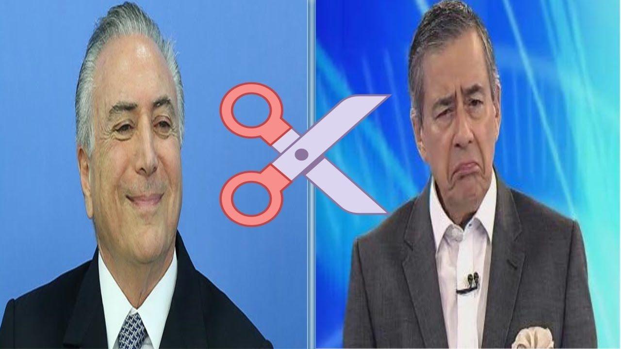 Michel Temer corta repasse a blogs pró-PT. Entre eles Paulo Henrique Amo...