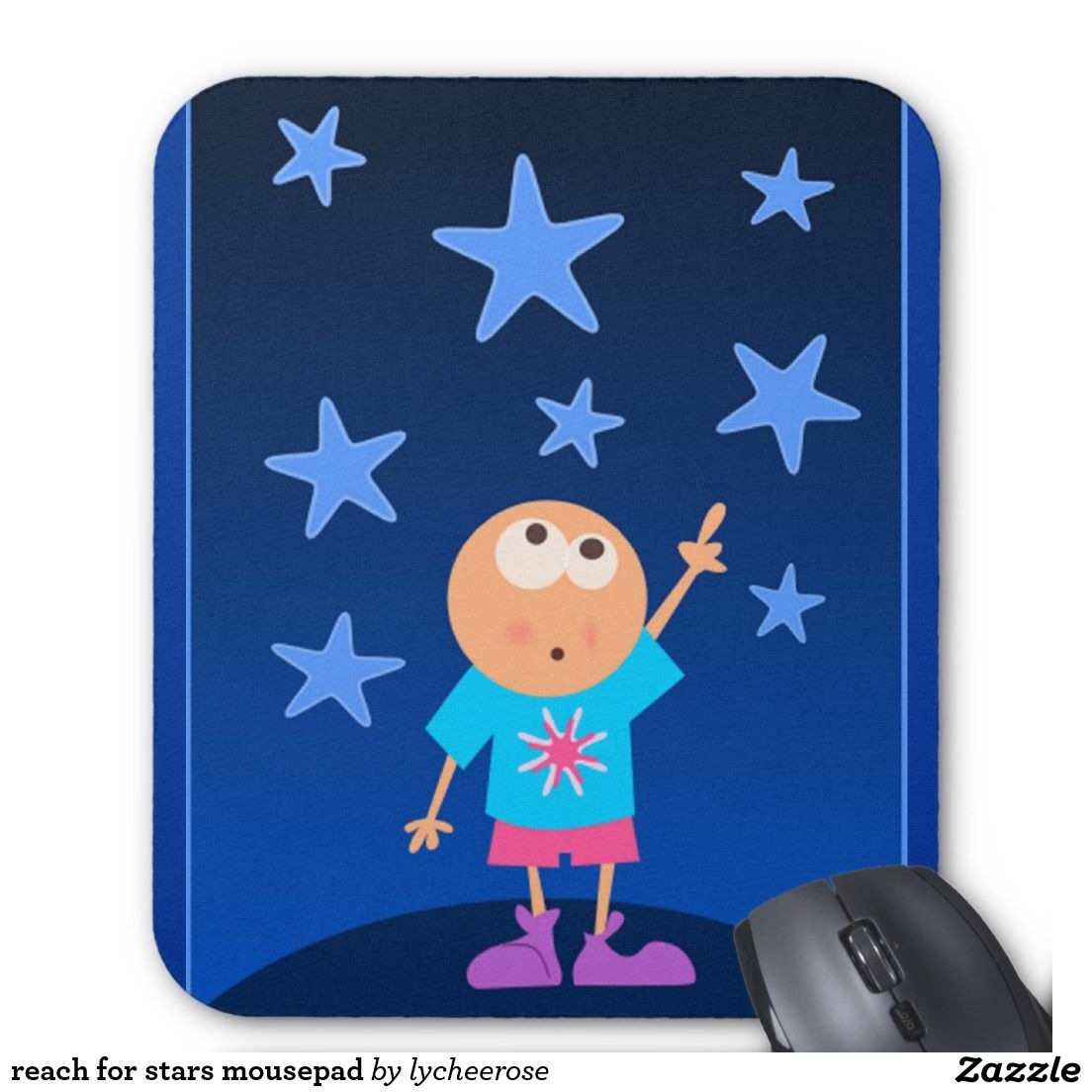 reach for stars mousepad
