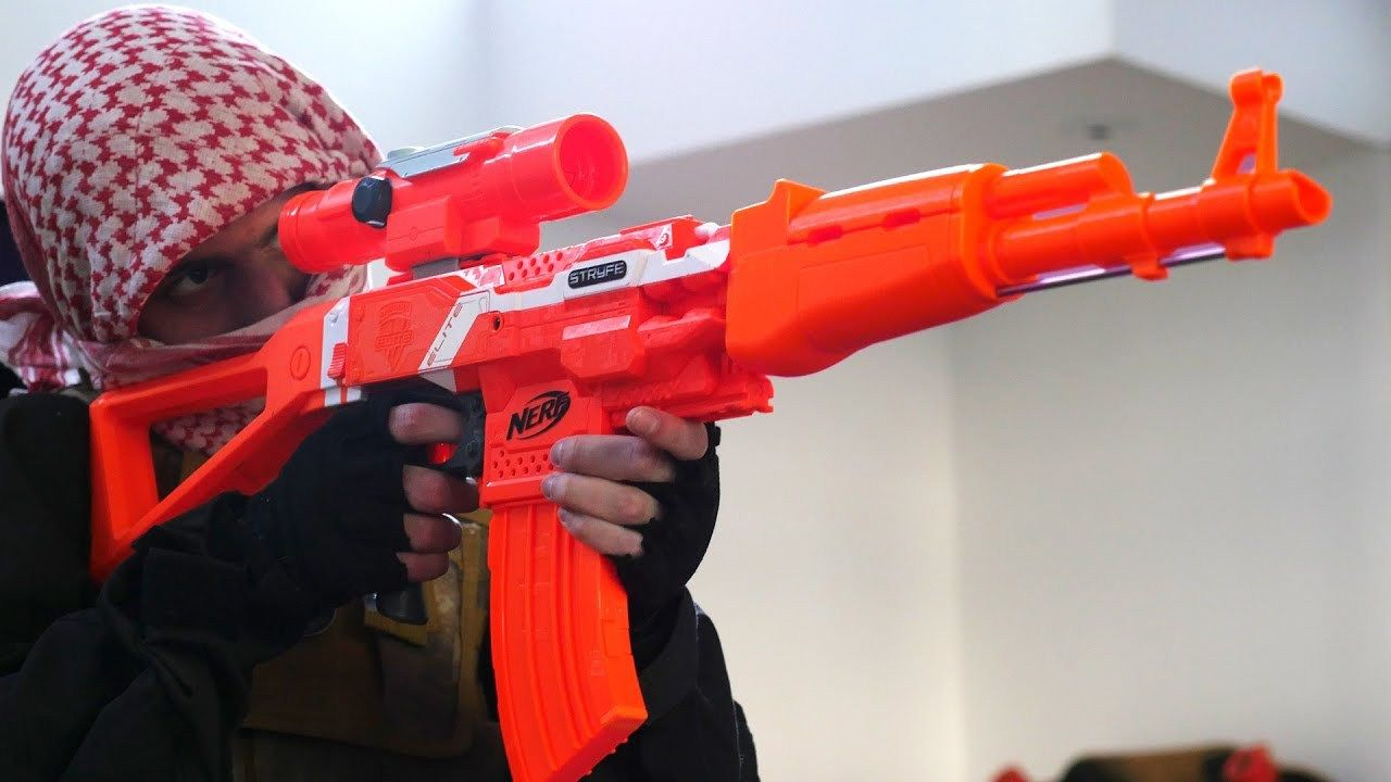 Nerf Mod, brought to you by PDK Films! In this Nerf Mod video, I show you a  look into my new Nerf gun arsenal. I unbox a lot of classic Nerf guns ...