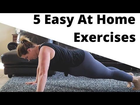 5 easy exercises you can do at home │ move your body