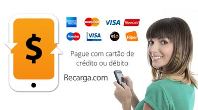 Recarga.com: Ganhe R$ 8 de desconto na recarga do celular