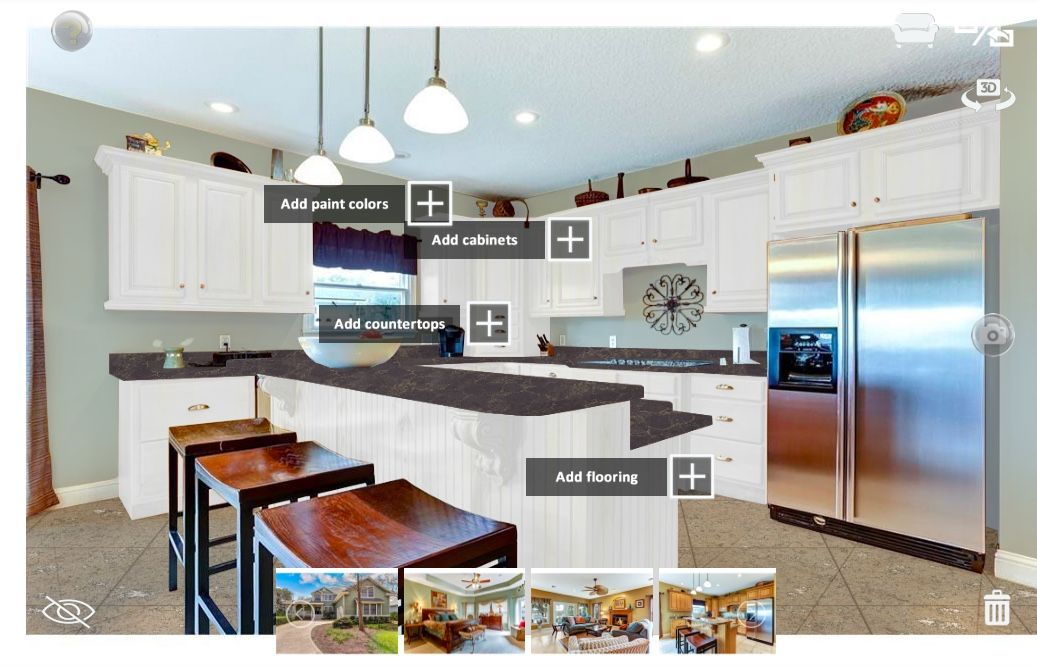 New year, new home improvement projects Remodel your kitchen with Showoff's app while you wait ...
