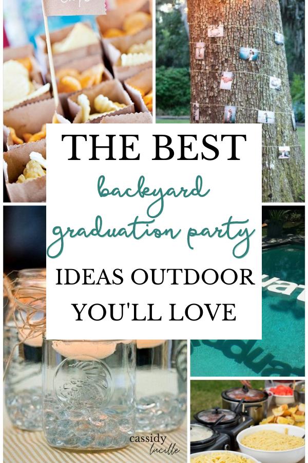 33 Absolute Best Backyard Graduation Party Ideas That Are Affordable In 2021 Backyard Graduation Party Graduation Party High Graduation Party Diy
