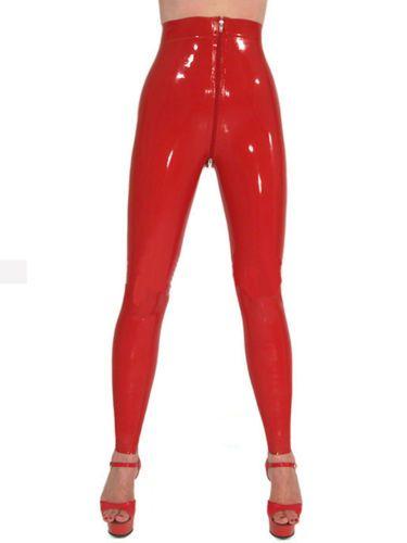 4848f190c92 Sexy-Latex-Women-Pants-Rubber-Leggings-Trousers-Front-Zipper-Gummi -0-4mm-Unique