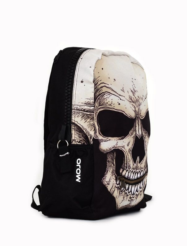 Mojo Mr. Peterson Skull Backpack  #skull