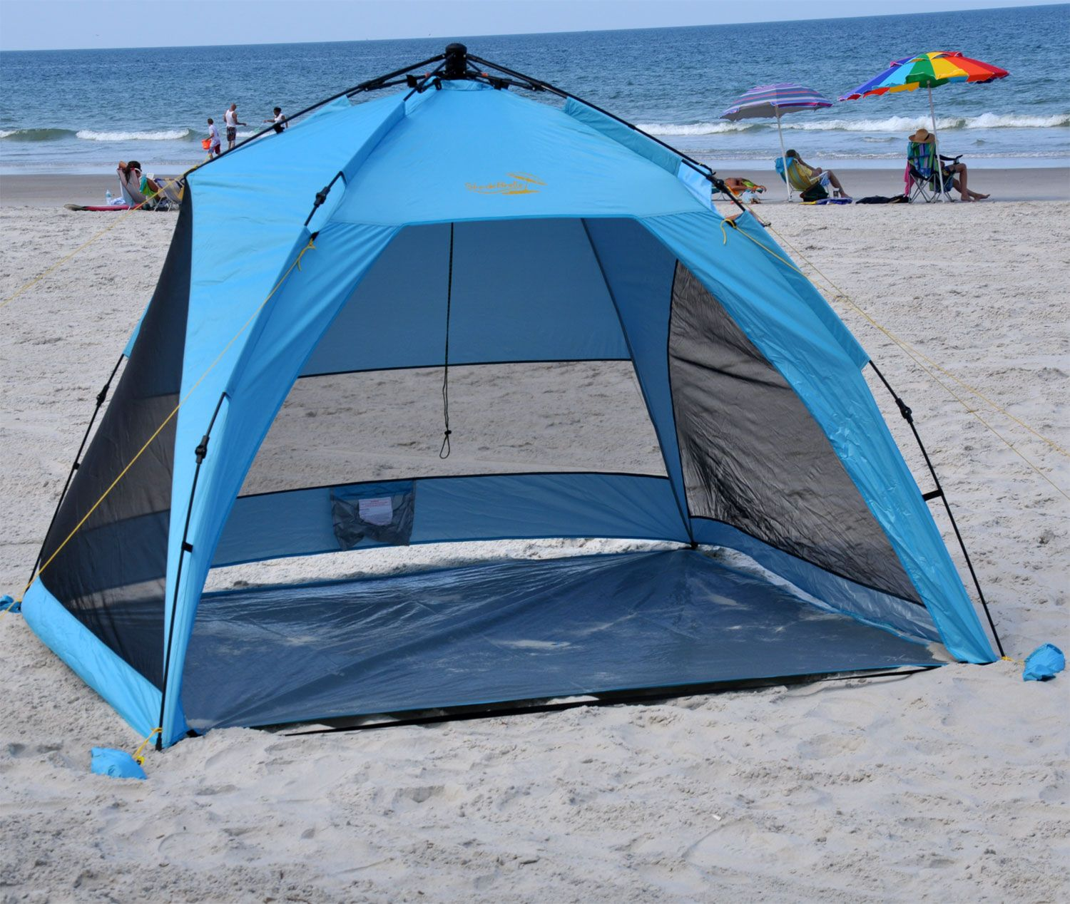 beach shade canopy | Beach Shelter | Jumbo Pop Up Beach Tents : best pop up tents - memphite.com