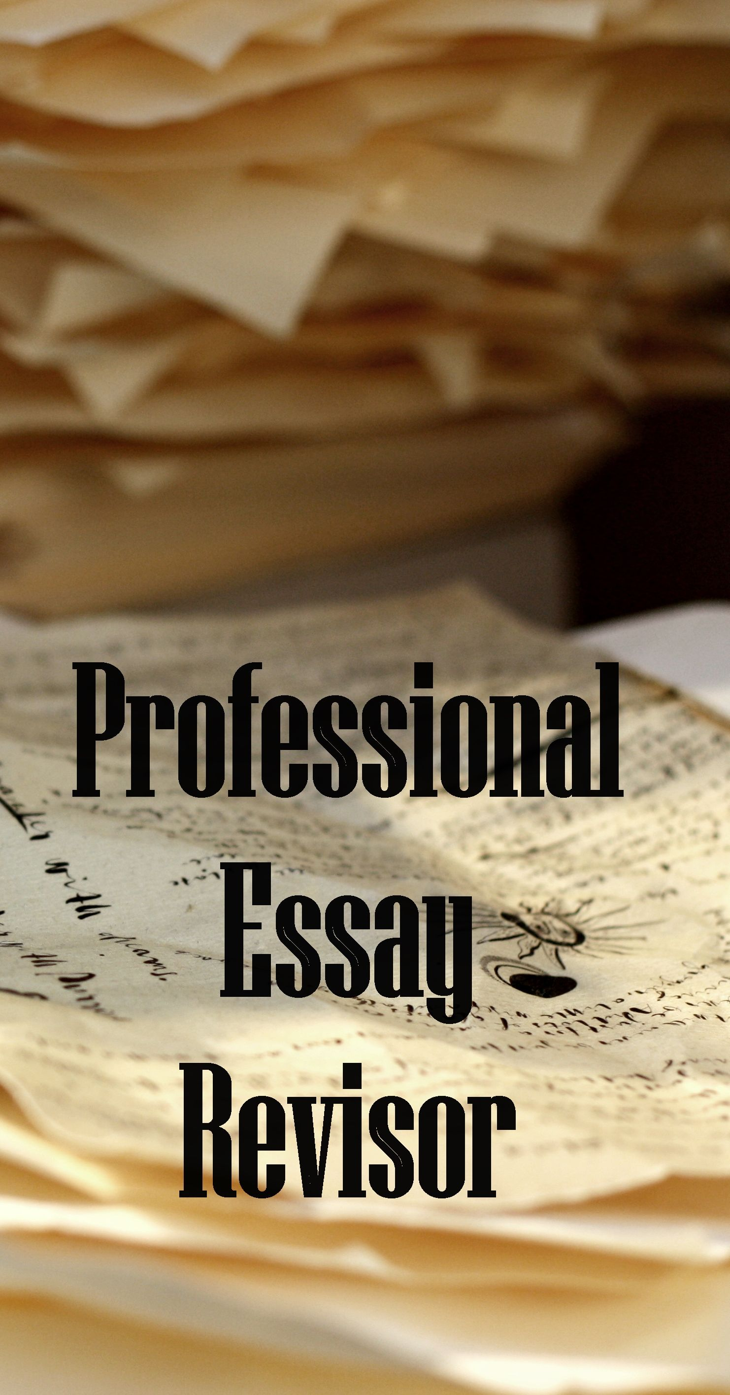 We offer an option of essay revisor online that will guide you in
