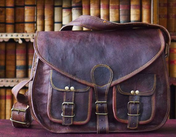 This shop on Etsy has gorgeous leather bags