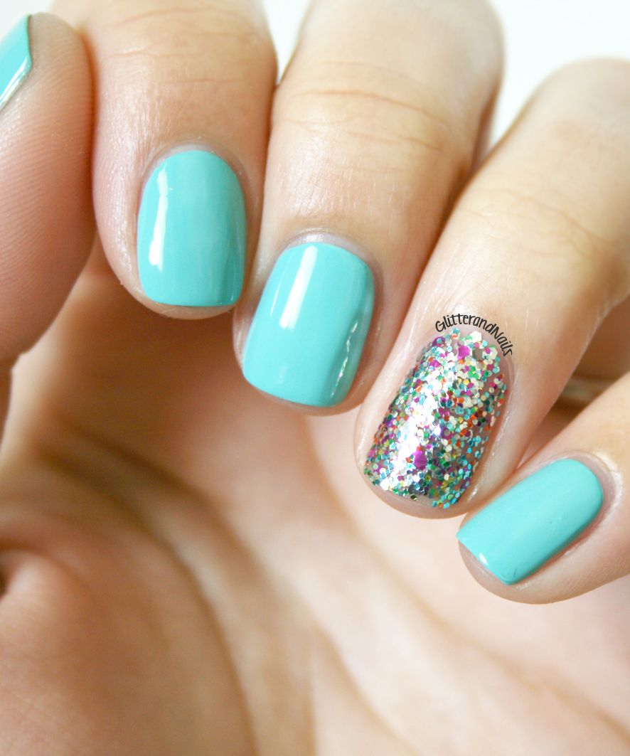 Glitter and Nails: Happy birthday to me ! Manucure danniversaire ...