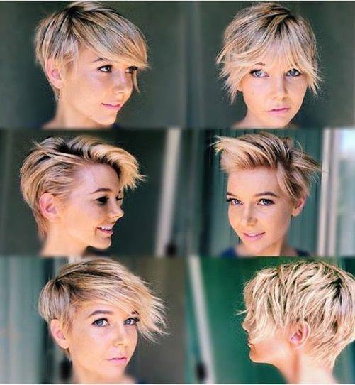 Lassige kurzhaarfrisuren blond