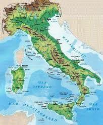 Cartina Dellitalia Montuosa.Le Catene Montuose E Le Pianure Configurazione Orografica Carte Geografiche Geografia Attivita Geografia