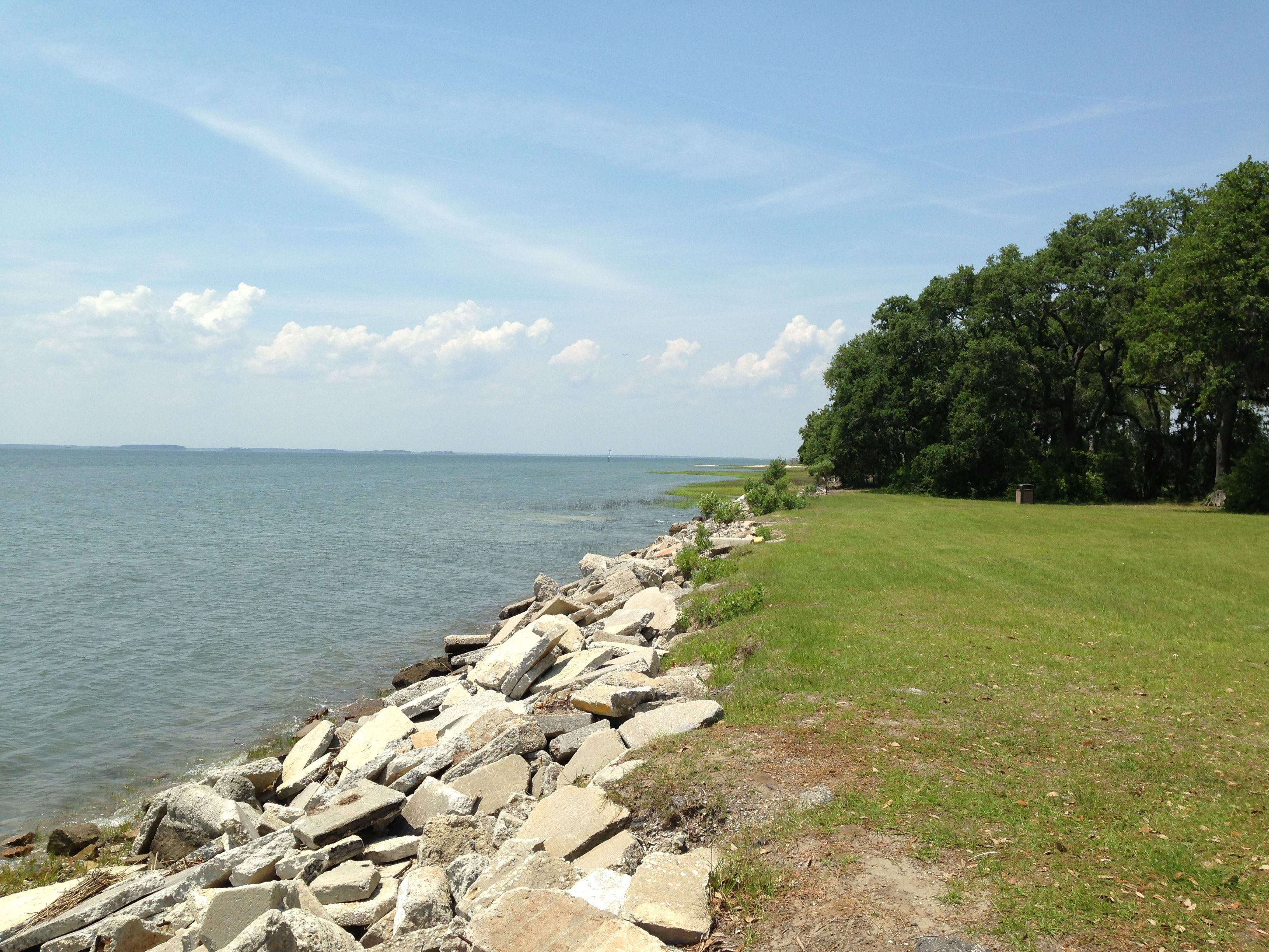 View Of The Ocean From Elliott Beach Parris Island Sc I Seriously Spent So Much Time On E When We Lived Pi Beautiful Place