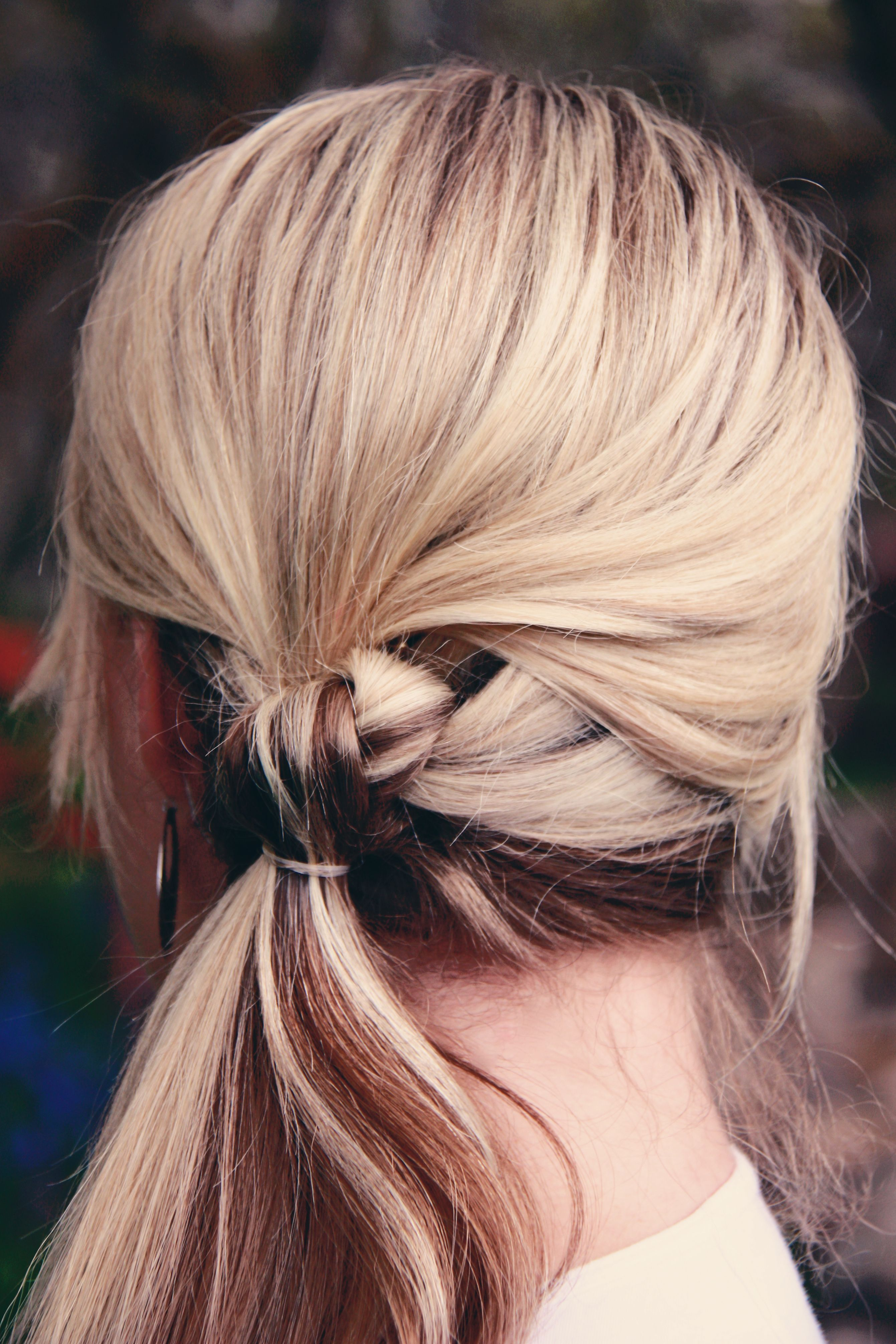 And hairstyle number  Cute huh Iuve seen knotted ponytails