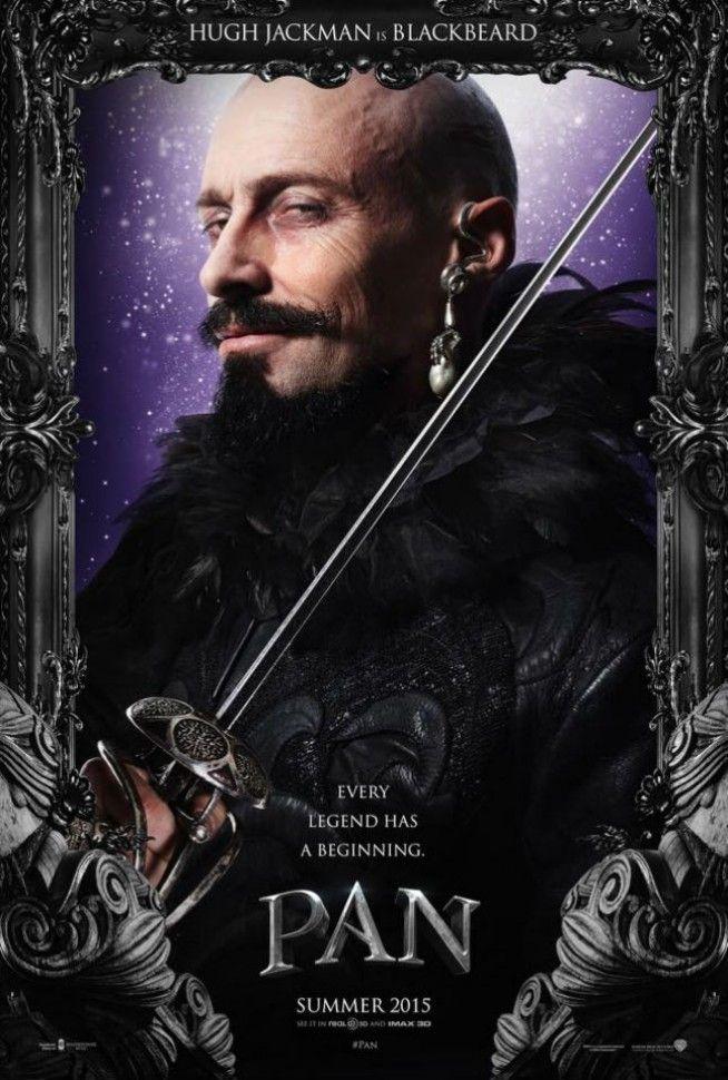 Pan Blackbeard Peter Pan Pinterest Movie 2015 Movies And