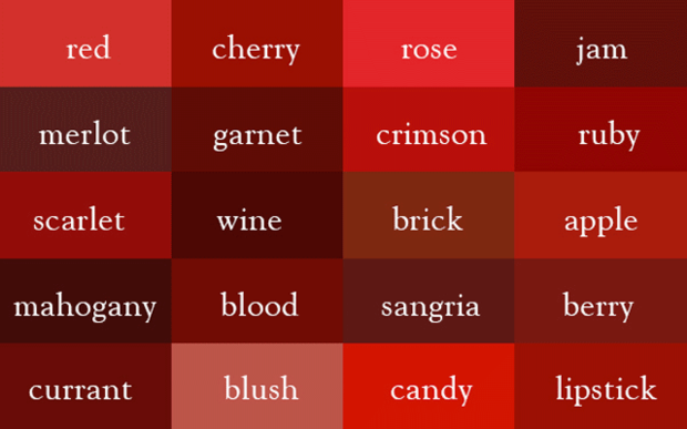 Name Every Shade Of The Rainbow With This Color Thesaurus