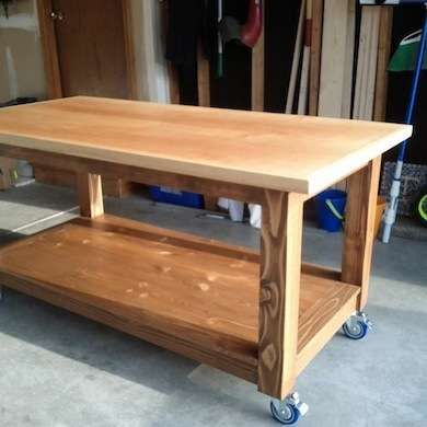 Get To Work 13 Diy Workbenches Craft Counters And Potting Tables Craft Table Diy Workbench Diy Workbench