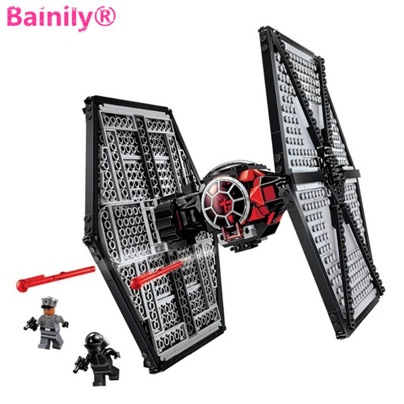 STAR WARS 75101 building blocks THE FORCE AWAKENS Tie Fighter Kid Boys gift toys